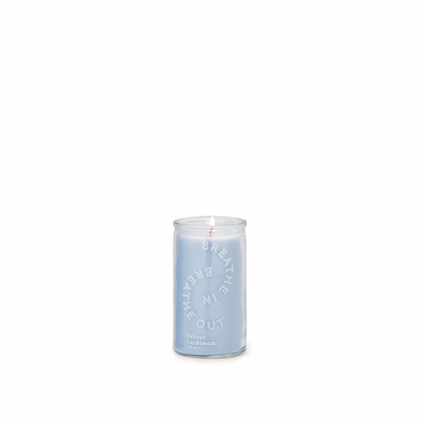 MINI BREATHE IN, BREATHE OUT CANDLE - Vetiver Cardamom