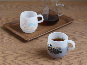 Kinto Sign Painter Mug - RAIN