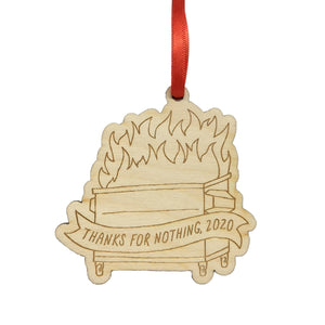 Little Goat Paper Co. - Dumpster Fire 2020 Ornament