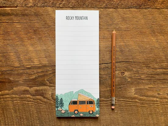 Rocky Mountain Camper Notepad