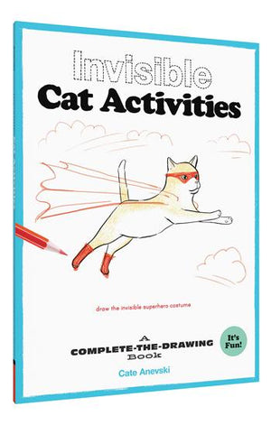 Invisible Cat Activities A Complete-the-Drawing Book