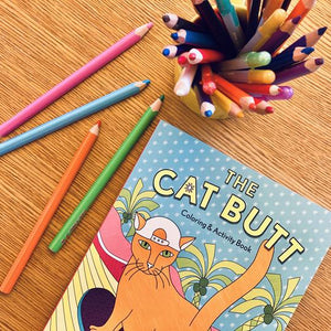 The Cat Butt Coloring and Activity Book