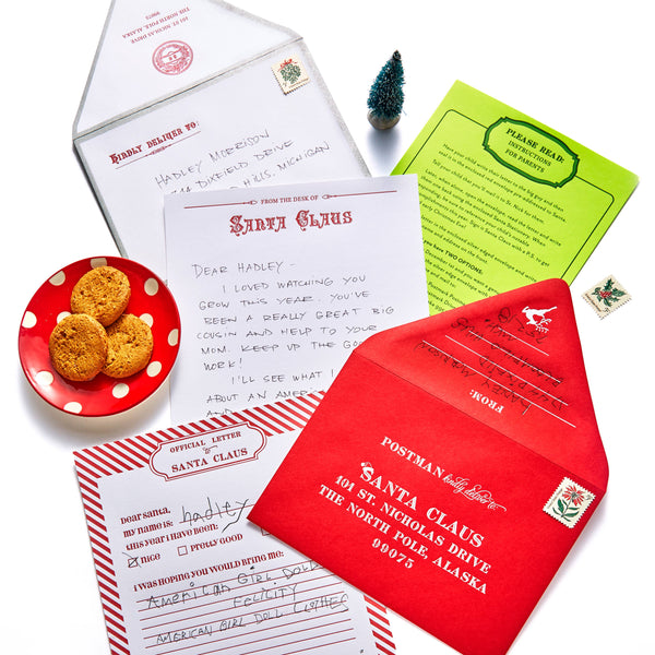 Santa Letter Kit by Color Box Design & Letterpress