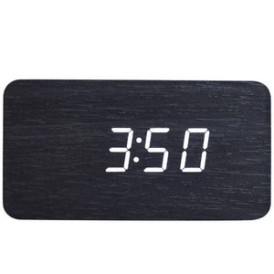 Walnut Wood Digital Clock