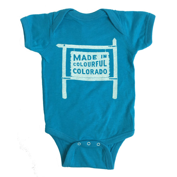 Made in Colorado Onesie