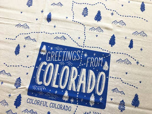 Colorado Tea Towel