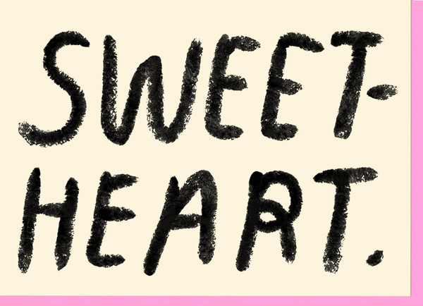 Sweetheart Card by People I've Loved