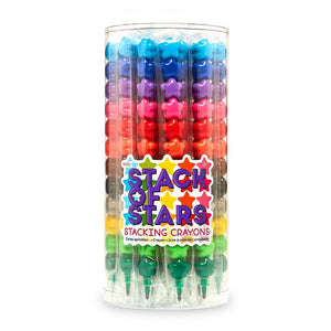 OOLY - Stack of Stars Stacking Crayons