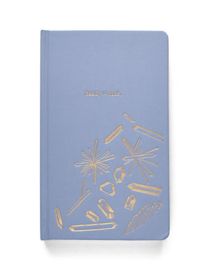 Ready to Rock Cloth Journal - Blue