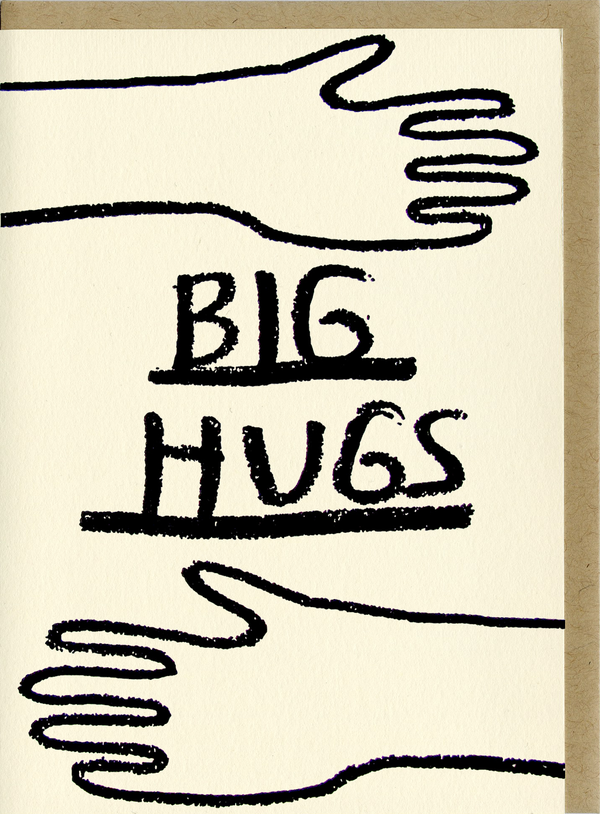 Big Hugs Card by People I've Loved
