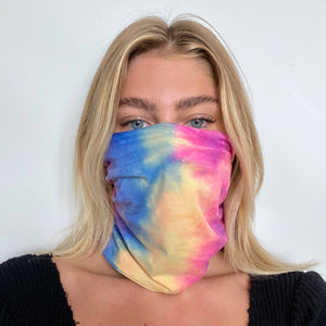 Tie Dye Beanie/Mask Pretty Simple -