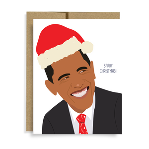 Barry Christmas Card by Neighborly Paper