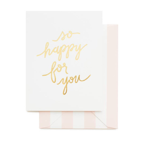 So Happy for You Card by Sugar Paper