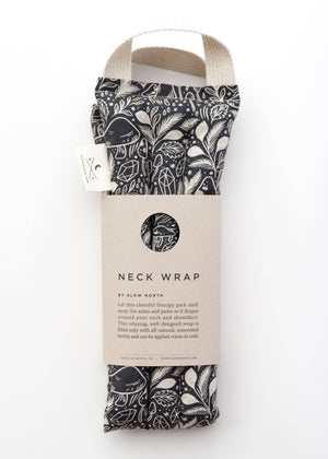 Neck Wrap Therapy Pack / Mystical Mushroom by Slow North