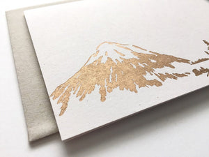 Mountainside Card by Runaway Press