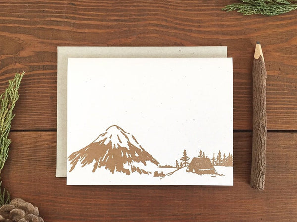 Box set of 6 Mountainside Card by Runaway Press