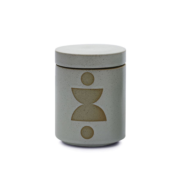 FORM MINT CERAMIC CANDLE WITH LID - Ocean Rose & Bay