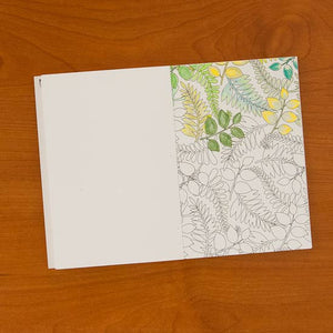 Nature's Delight Pocket Coloring Book