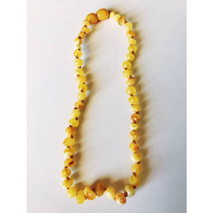 Baltic Amber Necklace (Milky)