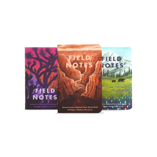 National Parks Notebooks - Series B - Field Notes