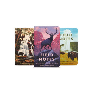 National Parks Notebooks - Series C - Field Notes