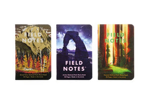 National Parks Notebooks - Series D - Field Notes