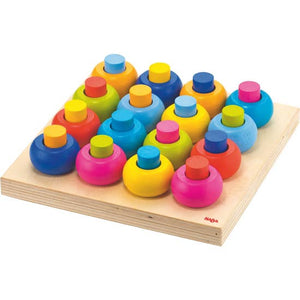 HABA - Palette Of Pegs Wood Toy