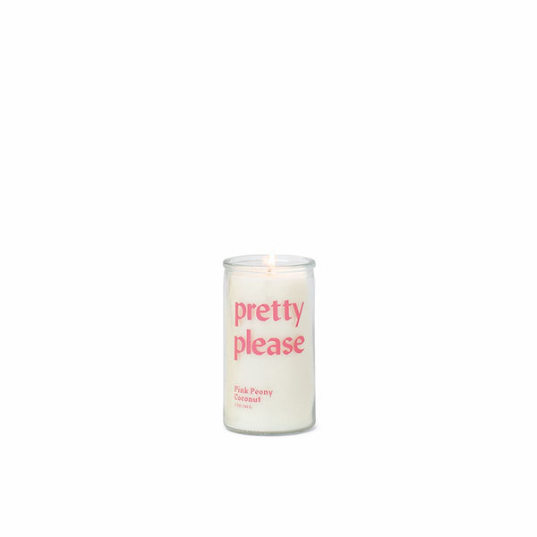 PRETTY PLEASE CANDLE - Pink Peony Coconut