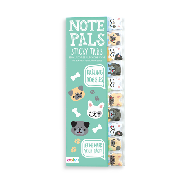 Note Pals Sticky Tabs: Darling Doggies