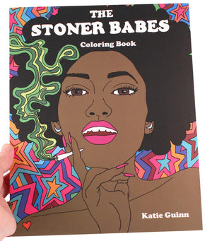 Stoner Babes Coloring Book
