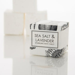 SPARKLING BATH TABLET - SEA SALT & LAVENDER