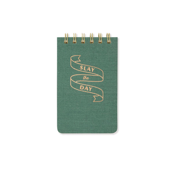 SLAY THE DAY - TWIN WIRE NOTEPAD