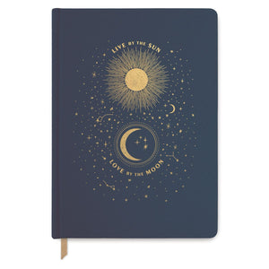 LIVE BY THE SUN - LARGE COVER BOOK BOUND