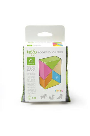 TEGU - Magnetic Pocket Pouch Prism