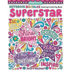 Superstar Coloring Book