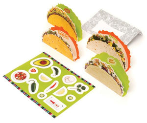 Taco Time 12 Notecards & Envelopes