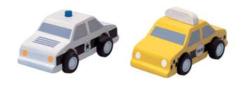City Taxi And Police Car Toys