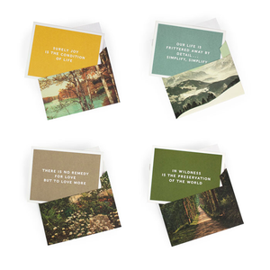 Thoreau Notecards Box Set