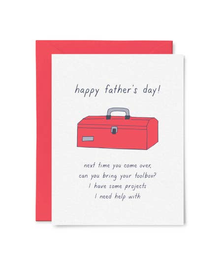 Father's Day Toolbox Card by Little Goat Paper