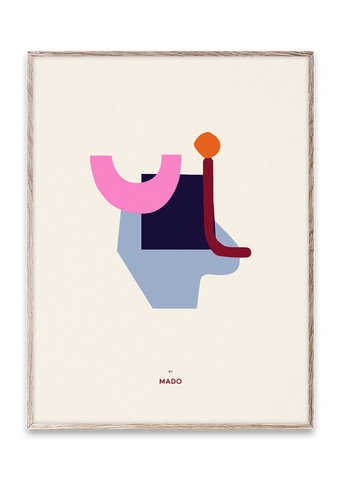 HELLO MADO / AFFICHE ABSTRACT