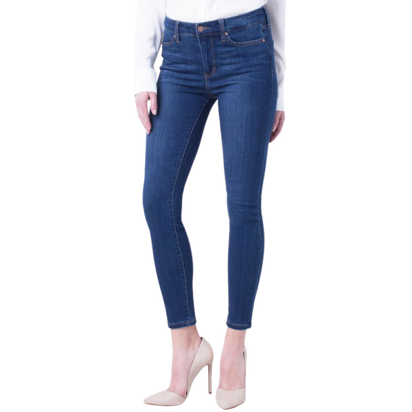 Liverpool Mid-Rise Abby Skinny Ankle Jean | atfashion.shop