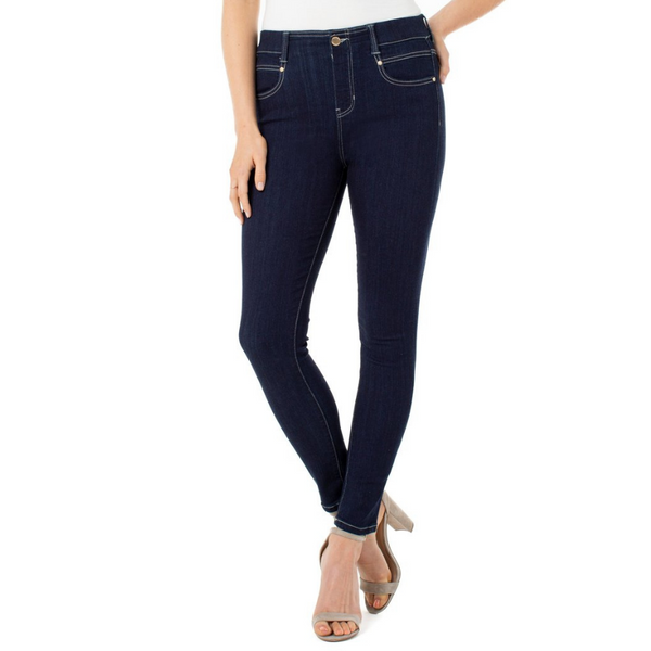 Liverpool Gia Glider Pull-On Ankle Skinny Jean | atfashion.shop