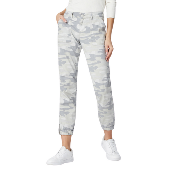 Mavi Ivy Light Wash Camo Cargo Pant | atfashion.shop
