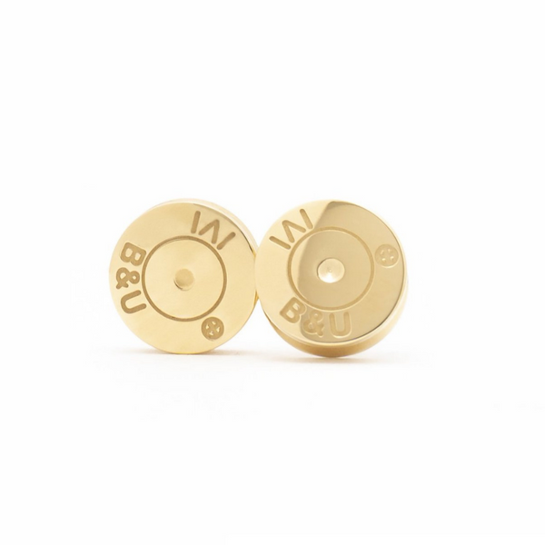BRASS & UNITY Studfinder Earrings Gold