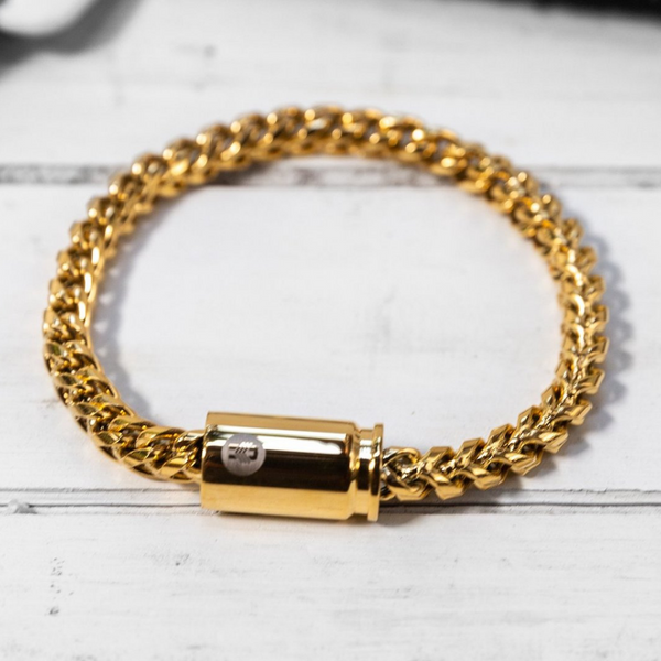 BRASS & UNITY Quattro Bracelet Gold | atfashion.shop