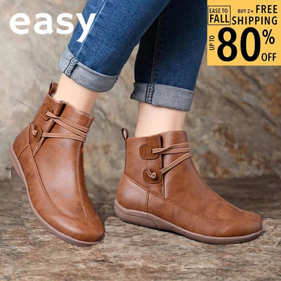 EASY Premium Orthopedic Strap Ankle Boots