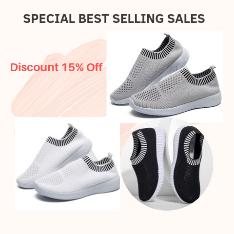 EvaMesh™️ Women Soft Walking Shoes - FREE SHIPPING