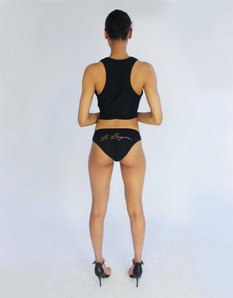 Li Lingerie Logo Brief