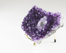 Load image into Gallery viewer, Amethyst Crystal Cluster with Stalactite