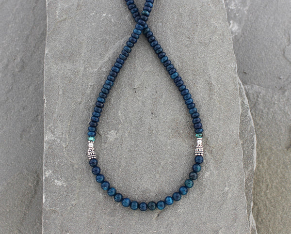 Apatite and Turquoise Necklace